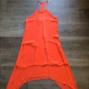 Aqua halter top dress size XS